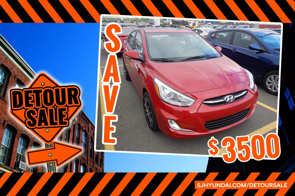'17 ACCENT GLS – SAVE $3,500!